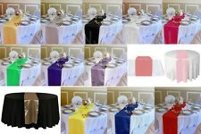 Simple Fashion Satin Table Cloth Desk Runner for Decorating Wedding Party #D2