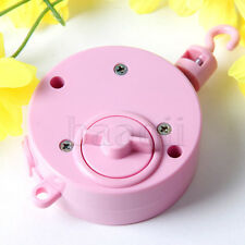 Pink Color Music Box Movement for Crib Mobile with Hook Baby Children Fun