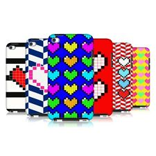 HEAD CASE PIXELATED HEARTS PROTECTIVE COVER FOR APPLE iPOD TOUCH 4G 4TH GEN