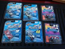 NASCAR ACTION  MUSCLE MACHINES #3 OR  #88 OR #8 OR #9 OR #48 OR #20 1:64