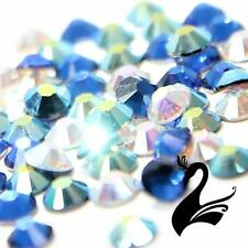 Swarovski ® Crystal - Xilion Rose 2038 Round Flat Back Hot Fix Rhinestones S