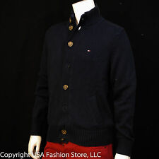 Tommy Hilfiger Men's Sweater Knit Navy NWT