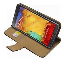 WALLET Leather Flip Case Cover Pouch for Samsung Galaxy Note 3 Neo SM-N7502 Duos