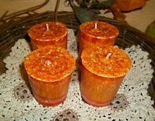 NELLIES ACRES PALM WAX VOTIVES ...BAG OF 4 or BY THE DOZEN, 100'S OFSCENTS