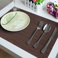 New Korean doily Japanese Placemats Woven Table Mat Protector Dining Decoration