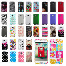 LG Optimus L70 Exceed 2 Snap On Hard Shell Case Cover MS323 D325