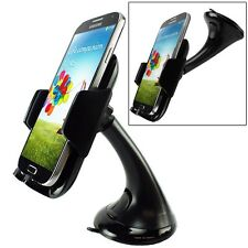 COMPACT CAR MOUNT SWIVEL DASHBOARD DOCK WINDSHIELD HOLDER CRADLE for AT&T PHONE