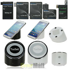 Qi Wireless Charger Charging Pad For Samsung Galaxy S5 S4 S3 Note 4 3 +Receiver