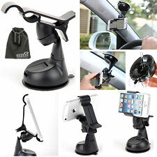 EEEKit Rotate Car Windshield Suction Mount Holder+Pouch for iPhone 5S 5 4S Phone
