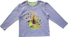 DEFECT - NEW Disney Rapunzel Tangled Long Sleeves Tee T-shirt Top Size 2-7Y