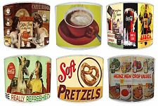 Vintage Cafe Lampshades Coffee Shop Posters Lamp shades Or Ceiling Light shades