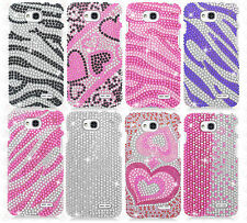 T-Mobile LG Optimus L90 Crystal Diamond BLING Hard Case Snap On Phone Cover