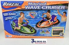 NEW 12V Motor  Banzai Motorized Wave Cruiser/Blaster Pool Water Bumper Boat