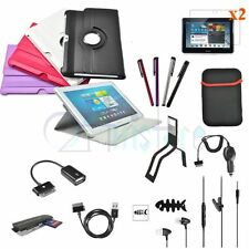 12 Accessory Leather Case Guard Cable For Samsung Galaxy Tab 2 10.1 P5100 P5110