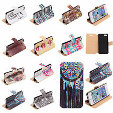 New Durable~Cheap~Flip Wallet Case 10 Styles Covers SKins For Apple iPhone 5/5S