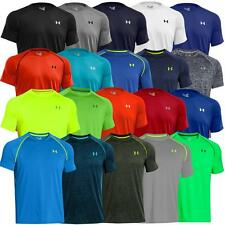 2014 Under Armour Mens HeatGear Tech Short Sleeve Training T-Shirt *New Out*
