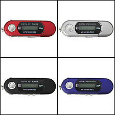 2/4/8GB USB 2.0 Flash Drive LCD Mini MP3 Music Player w/ FM Radio Voice Recorder