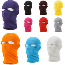 Lycra Ski Full Face Mask Motorcycle Cycling Bike Bicycle Scarf Hood CS Hiking US