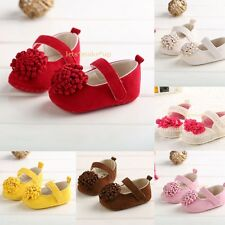 Colorful flower Soft bottom Sandals Infant Girls Toddler baby shoes 0-18 months