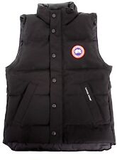 Canada Goose Youth Vanier Vest in Black 4129Y New & Authentic Down Fill