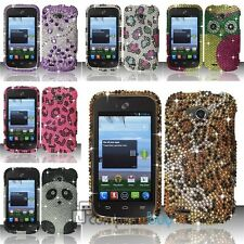 Luxury Glitter Diamond Case Bling Diamante Hard Cover For ZTE Savvy Z750c