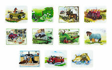 Alisons Animals Kitchen Glass Chopping Board Worktop Saver Cats Dogs Farm Gifts