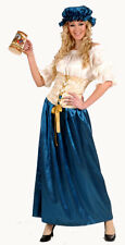 Deluxe Medieval Tavern Wench Fancy Dress Costume Med & Large