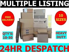 HEAVY DUTY CARDBOARD BOXES ALL SIZES SMALL / MEDIUM / LARGE / X-LARGE
