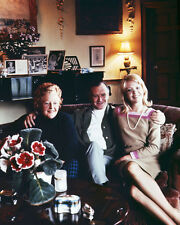 HAYLEY MILLS WITH FATHER JOHN & LADY MILLS PHOTO OR POSTER