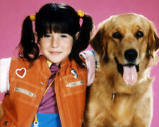 SOLEIL MOON FRYE PUNKY BREWSTER STUDIO POSE WITH DOG PHOTO OR POSTER