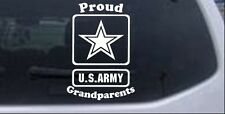 Proud Army Grandparents Star Car or Truck Window Laptop Decal Sticker