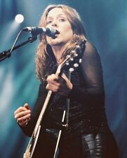 SHERYL CROW SINGING W GUITAR CONCERT COLOR PHOTO OR POSTER