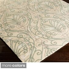 Candice Olson Modern Classics Hand-tufted Contemporary Ivory Floral Rug (8' x 11