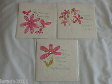 MUM OR GENERAL MOTHERS DAY CARD BELLY BUTTON CONTEMPORARY DESIGN 3 LARGE DESIGNS