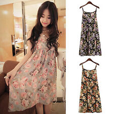 CHEAP Splashy Lady Sexy V-Neck Evening Prom Short Flower Casual Chiffon Dress SR