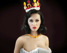 KATY PERRY OFF SHOULDER WHITE GOWN CROWN PHOTO OR POSTER