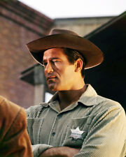 CLINT WALKER WITH U.S. MARSHAL BADGE WESTERN MOVIE PHOTO OR POSTER
