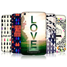 HEAD CASE DROPLETS OF LIFE PROTECTIVE COVER FOR SAMSUNG GALAXY TAB 3 8.0 T315