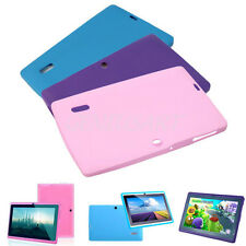 "Stylish Silicone Back Case Cover Protector for 7"" Inch Q88 Android Tablet PC MID"