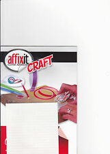 1 - 1000 SHEETS 400 PER SHEET WHITE FOAM PAD AFFIXIT CRAFT DECOUPAGE STICKER 5MM