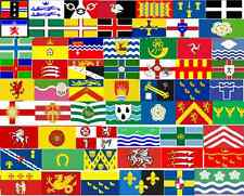 English welsh county flag flags 5x3 150cmx90cm yorkshire essex kent lancashire