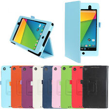 Filp PU Leather Stand Folio Case Cover For ASUS Google Nexus 7 2 2nd Gen 2013