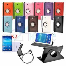 Rotating Leather Stand Case Flip Cover For Samsung Galaxy Tab 3 7.0 P3200 T210