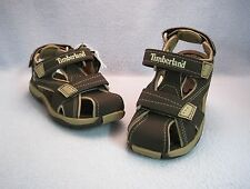 TIMBERLAND MAD RIVER CLOSED TOE Brown Sandals TODDLER Sz 4 5 6 7 9 10