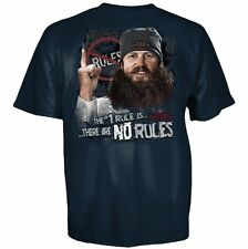 Adult Navy Blue Duck Dynasty The #1 Rule Is There Are No Rules T-shirt Tee