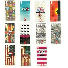 OWL Elephant Beard Silicone Soft TPU Back Case Cover For Sony Xperia Z2 L50W