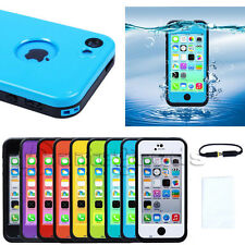 2014 Newest Waterproof Shockproof Dirt Snow Proof Case Cover For Apple iphone 5c