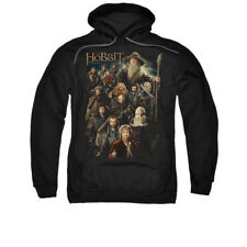 The Hobbit Desolation of Smaug Movie Somber Company Adult Pull-Over Hoodie