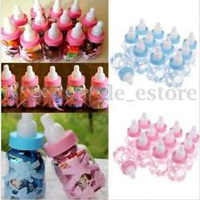 12X  Baby Shower Baptism Christening Birthday Gift Party Favors Candy Box Bottle