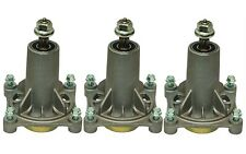 "3 Spindle Assemblies AYP Craftsman Husqvarna 46"" 48"" 54"" Decks 187292 532187292"